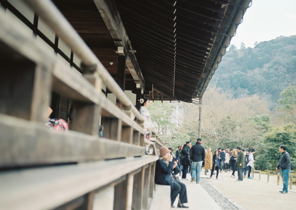 Somewhere in Kyoto - A great photo but I misfocussed the girl.